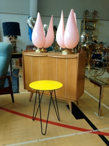 Awesome 50's occasional table