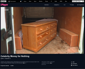Before shot of Money For Nothing project as given to Tom & Johnny at the 3 restorers workshop