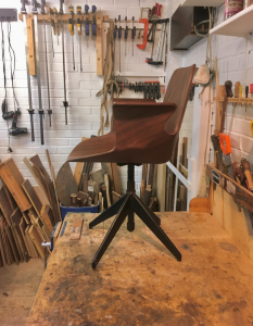 Midcentury furniture - Vittorio Nobili chair - 3 restorers London